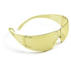 3M™ SecureFit™, Protective Eyewear, SF203AS, AMBER lens